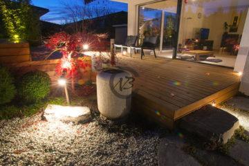 Eclairage de jardins