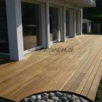 formes contemporaines terrasse en bois exotique ipé maison moderne