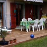 terrasse en lames de bois exotique avec visserie invisible Vaud