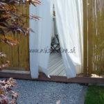 rideau sur terrasse en lames bois exotique ipé