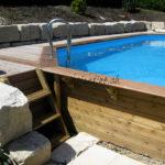 piscine boius avec margelle ipé