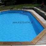 piscine bois avec terrasse en lames ipé