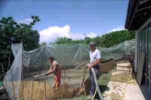 gunitage-piscine-étang-projection-béton